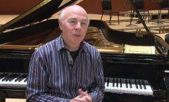 "El pianista Jorge Federico Osorio, y""Final Thoughts"""