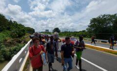 Caravana, de haitianos, hondureños, salvadoreños, nicaragüenses y guatemaltecos a USA