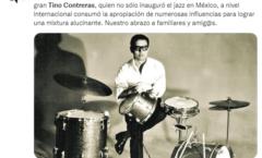Leyenda del jazz mexicano, Tino Contreras