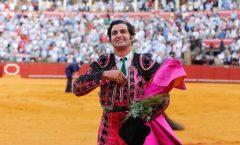 Morante de la Pueblaacabó con el cuadro en el ruedo en la feria de San Miguel