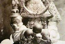 La coronación de La Virgen del Pueblito por José Félix Zavala, el 17 de octubre 1946