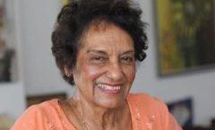 la periodista Marta Rojas; acompañó a Fidel Castro desde el asalto al cuartel Moncada