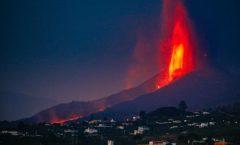 Imágenes del colapso: el volcán de La Palma