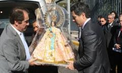 La Virgen de Zapopan, hecha de maíz, representa el mestizaje