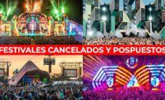 La mayoría de festivales artísticos del mundo: Cancelados, suspendidos o pospuestos