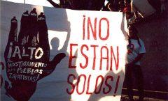 El viernes 24 mostramos muchos de países y lugares que los zapatistas no están solos.